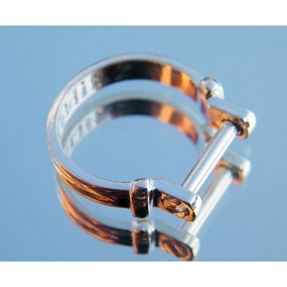 Pandora stílusú ezüstözött gyűrű alap.    Legjobb ár!