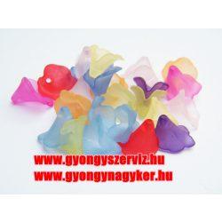 Vegyes akril virág mix. 20db/csomag.