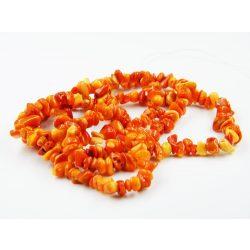 Korall splittergyöngy. Narancs. 1 szál.