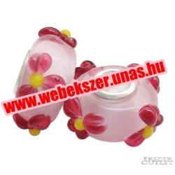 Pandora stílusú üveg gyöngy. Lámpagyöngy. 328112. Leárazva!
