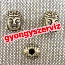 Köztes fémgyöngy. buddha. Antik bronz.