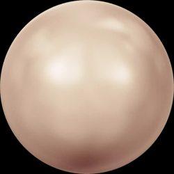Swarovski gyöngy. 8mm. Rose Gold Pearl (001 769)