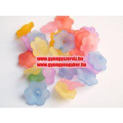 Akril virág mix. 20db/csomag.