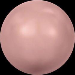 Swarovski gyöngy. 6mm. Pink Coral Pearl (001 716)