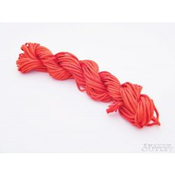 Shamballa fonal. Nylon fonal. 1.5mm. 12.5m. Piros.   Legjobb ár!