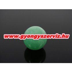 Zöld aventurin ásványgyöngy. Marokkő, harmónia gyöngy. 14mm.