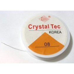 Gumidamil. Koreai sztreccs damil. 0.8mm. 9.2m.