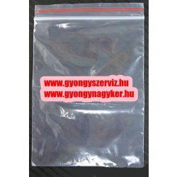 Simitózáras tasak. 9x6cm.1db, vagy 100db/csomag.