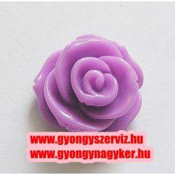 Ragsztható gyanta kaboson rózsa. 20mm. Orgona.