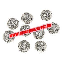 Buddha gyöngy, tibeti fém köztes gyöngy. Leárazva !