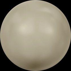 Swarovski gyöngy. 6mm. Platinum Pearl (001 459)
