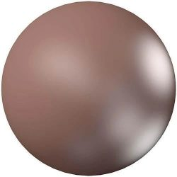 Swarovski gyöngy. 8mm. Velvet Brown Pearl (001 951)