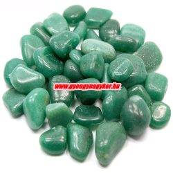 Zöld aventurin ásvány marokkő.