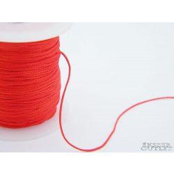 Shamballa fonal. Nylon fonal. 1mm. Piros.   Legjobb ár!