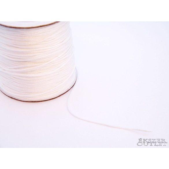 Shamballa fonal. Nylon fonal. 0.8mm. Fehér.   Legjobb ár!