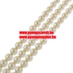Shell pearl gyöngy. 8mm. Gyöngyház.