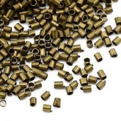 Stopper. 2.5mm.  Antik bronz szín. 1g.