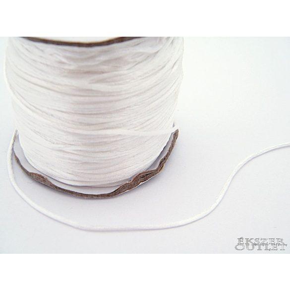 Shamballa nylon fonal. 1.5mm. Fehér.   Legjobb ár!