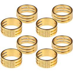 Szerelőkarika nyitó gyűrű. Arany szín.