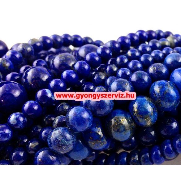 Lapis lazuli ásványgyöngy.  8mm.