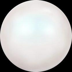 Swarovski gyöngy. 6mm. Pearlescent White Pearl (001 969) Mindig akcióban!
