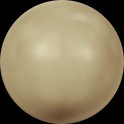 Swarovski gyöngy. 8mm. Vintage Gold Pearl (001 651)