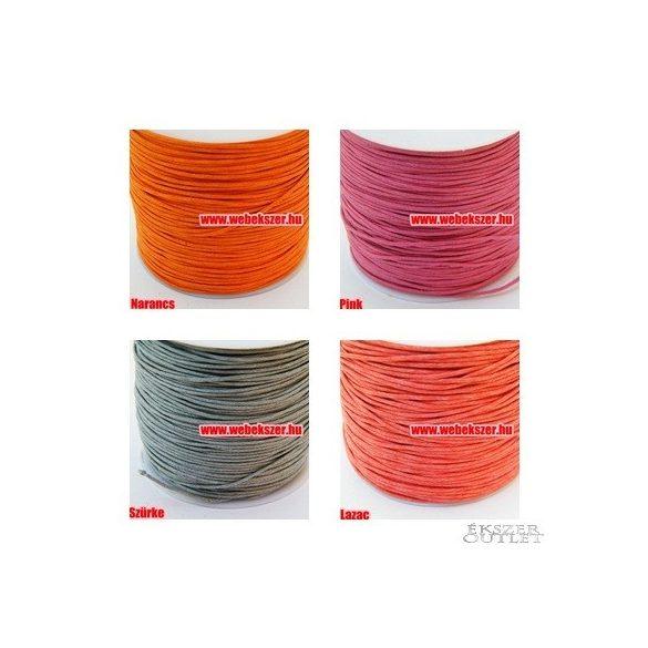 Viaszolt szál. 1mm. 29 szín! Válassz színt!    Legjobb ár!