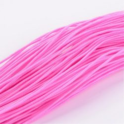 Gumizsinór, kalapgumi. 1mm. 27m/tekercs. Pink.