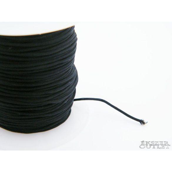 Shamballa fonal. Nylon fonal. 1mm. Fekete.   Legjobb ár!