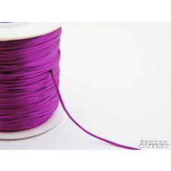 Shamballa fonal. Nylon fonal. 1.5mm. Sötét lila.   Legjobb ár!
