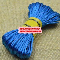 Poliészter fonal. 2.5mm. Kék.