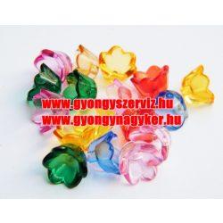 Vegyes virág, műanyag mix. 20db/csomag. Mindig akcióban!