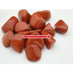 Vörös jáspis ásvány marokkő.