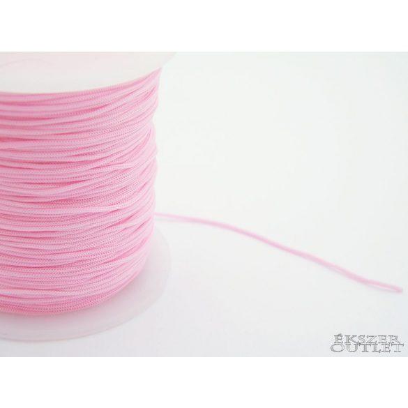 Shamballa fonal. Nylon fonal. 1mm. Rózsaszín.   Legjobb ár!