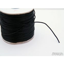 Shamballa nylon fonal. 1.5mm. Fekete.   Legjobb ár!