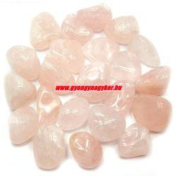 Rózsakvarc ásvány marokkő.