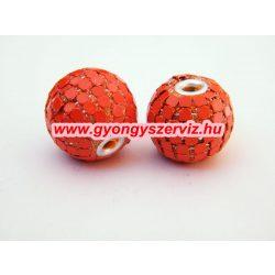 Indonéz gyöngy, bali gyöngy .  Narancs. Mindig akcióban!