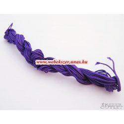 Shamballa fonal. Nylon fonal. 1.5mm. 12.5m. Padlizsán lila.   Legjobb ár!