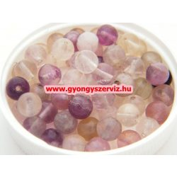Ásványgyöngy, féldrágakő, ékszer gyöngy. Fluorit. 12mm. Leárazva !