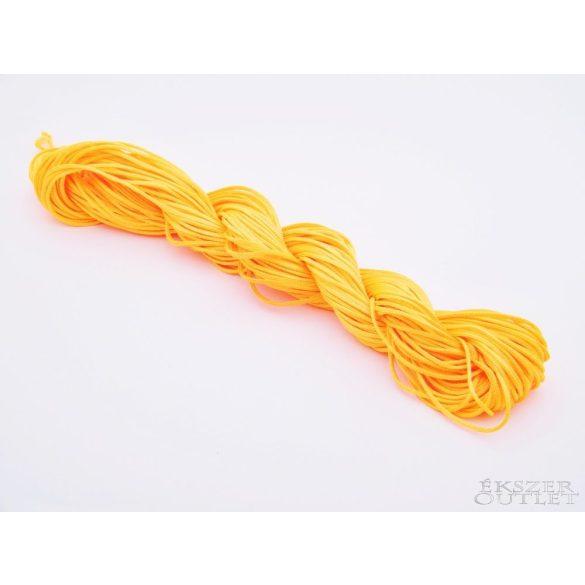 Shamballa fonal. Nylon fonal. 1.5mm. 12.5m. Narancs.   Legjobb ár!