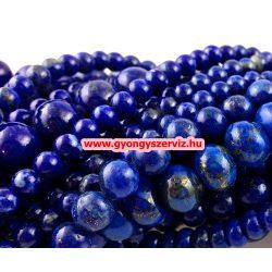 Lapis lazuli ásványgyöngy. 6mm.