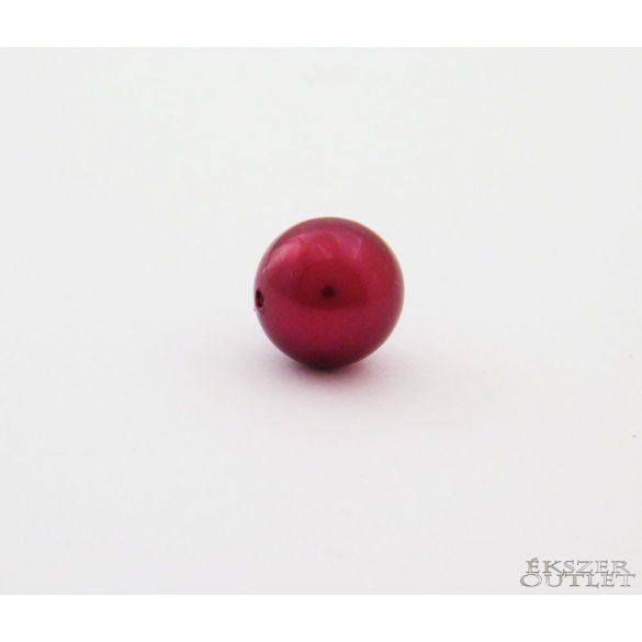 Shell pearl gyöngy. 10mm. Meggy.  Leárazva!