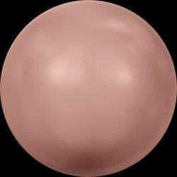 Swarovski gyöngy. 8mm. Rose Peach Pearl (001 674) Mindig akcióban!