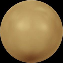 Swarovski gyöngy. 8mm. Gold Pearl (001 296) Mindig akcióban!
