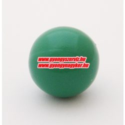 Angyalhívó csengő golyó. Zöld. 14mm .