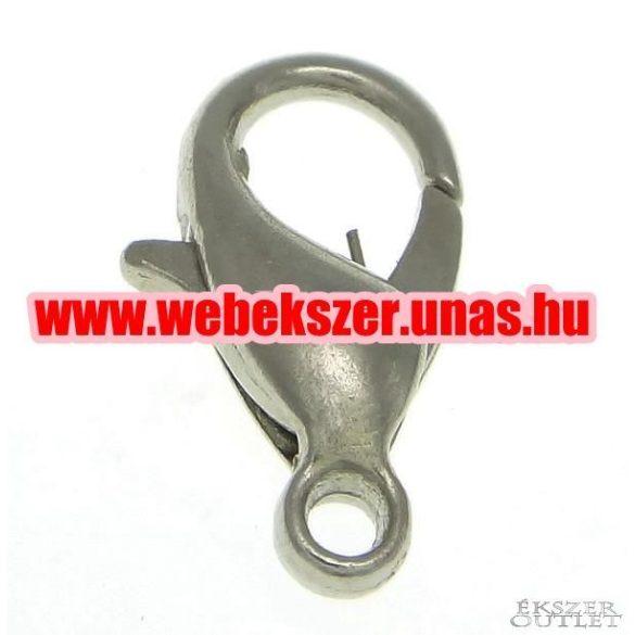 Delfin zár. Ékszer kapocs. 6x11.80x3.20mm.   Platina, arany, vagy antik bronz színben!  Legjobb ár!